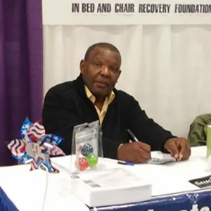Legendary Sportscaster Roy Foreman at the Abilities Expo in New Jersey